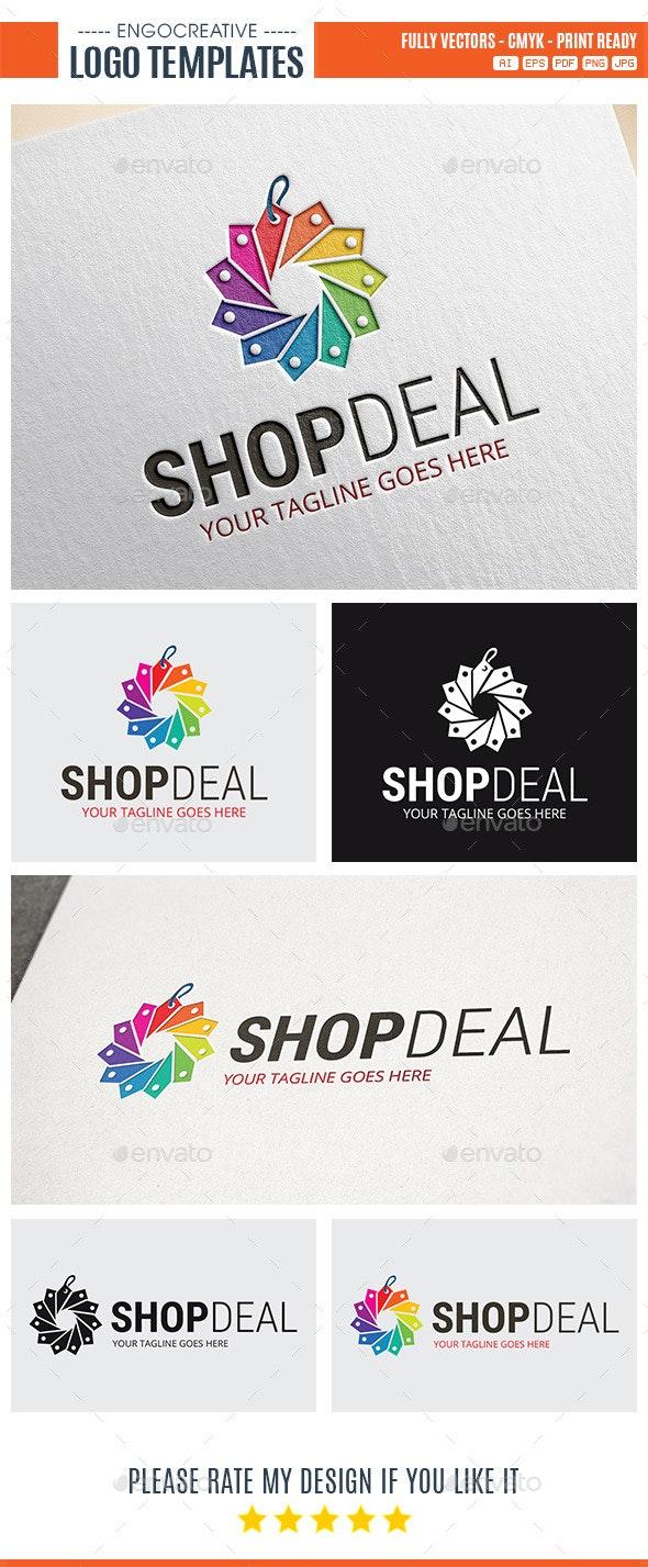 Shop Deal Logo - Symbols Logo Templates