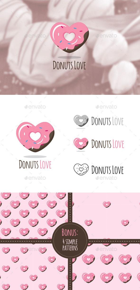 Donuts Shop Logo