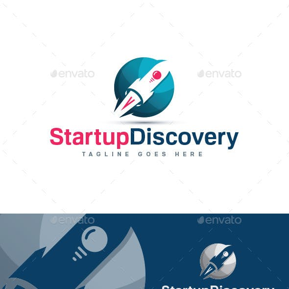 Startup Discovery Logo Template