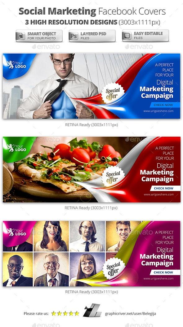Digital Social Marketing Facebook Covers - Facebook Timeline Covers Social Media