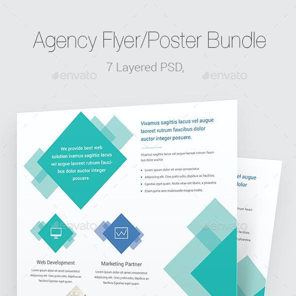Agency Flyer/Poster Bundle