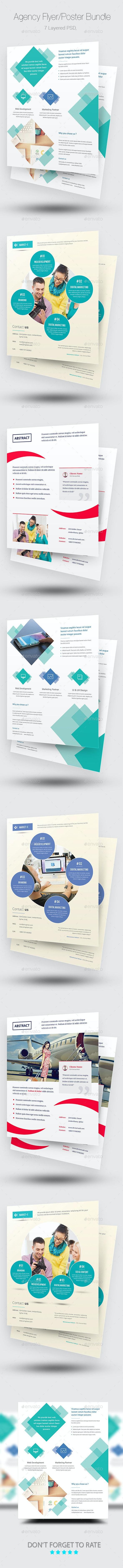 Agency Flyer/Poster Bundle - Corporate Flyers