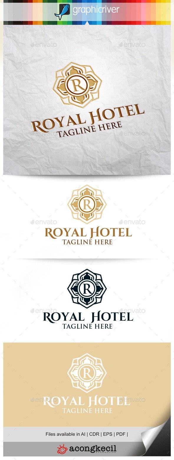 Royal Hotel V.2  - Crests Logo Templates