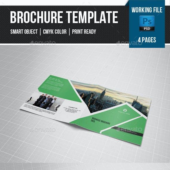 Corporate Square Bifold Brochure-V23