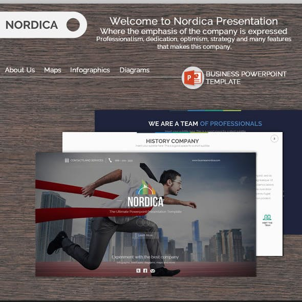 Nordica - Business Powerpoint Template