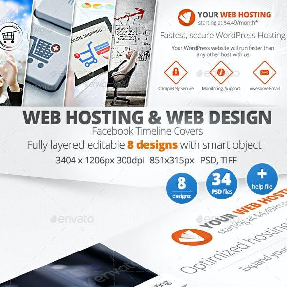 Web Hosting & Design Facebook Timeline Covers