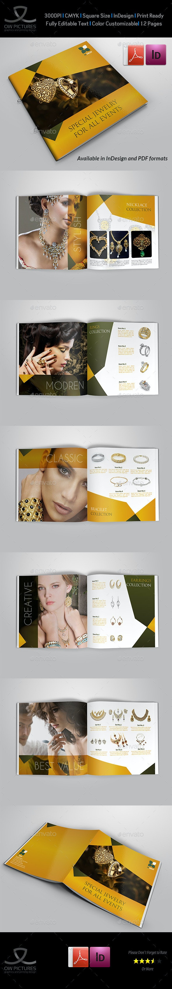 Jewelry and Accessories Catalog - 12 Pages - Catalogs Brochures