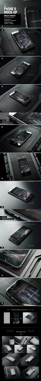 myPhone 6 Mock-Up v03 - Mobile Displays