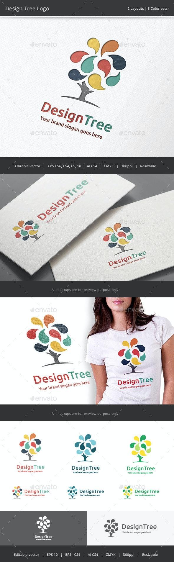 Design Tree Logo - Nature Logo Templates