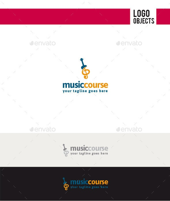 Music Course Logo - Objects Logo Templates