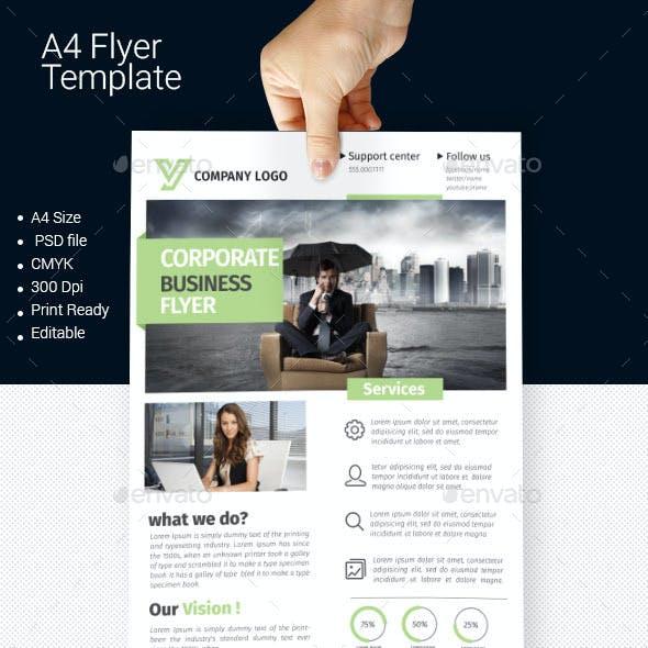 A4 Business Flyer Template 06
