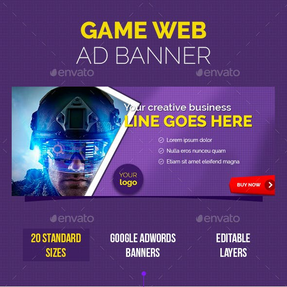 Game Web Ad Banner