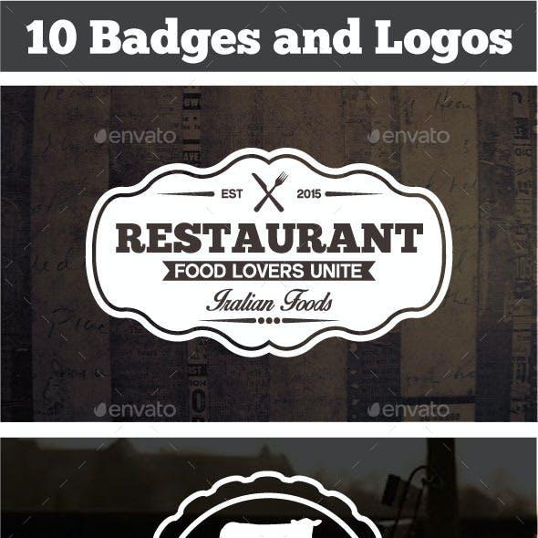Vintage Labels & Badges