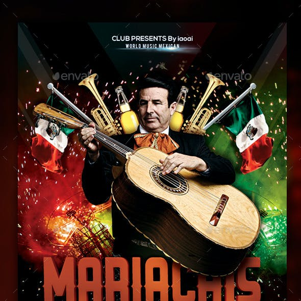 Mariachis Flyer & Poster