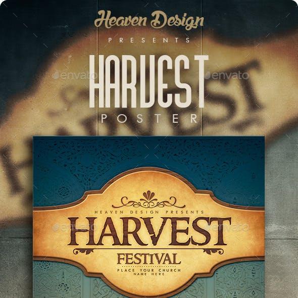 Harvest | Poster
