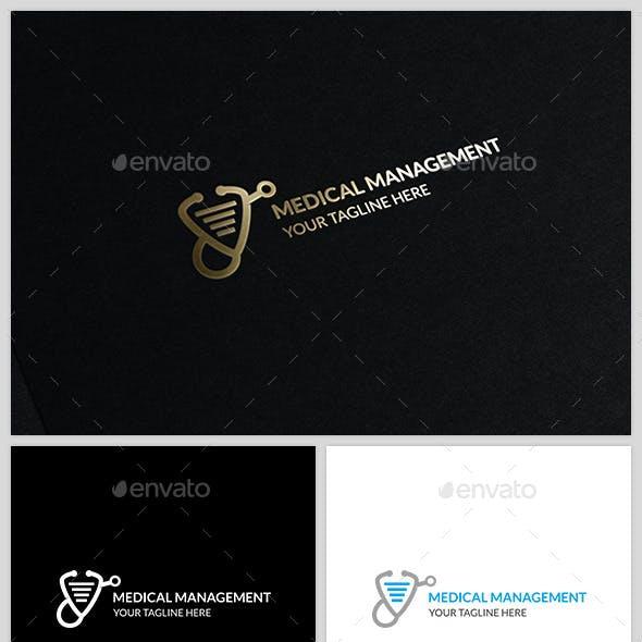 Medical Management - Logo template