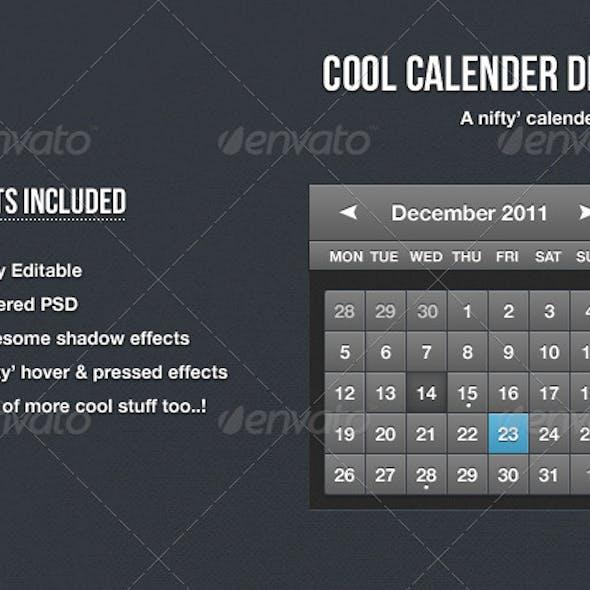 Cool Calendar Design