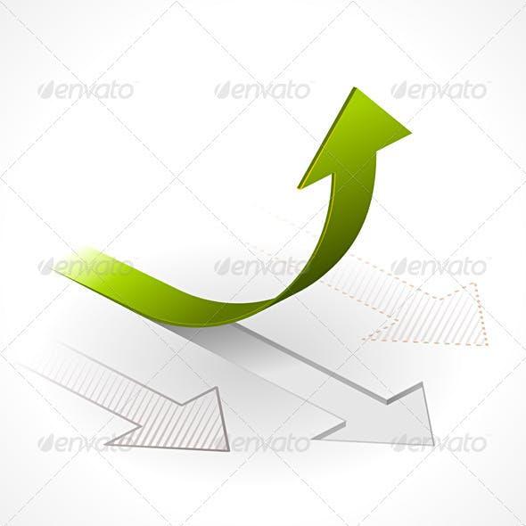 Onwards & Upwards Arrows