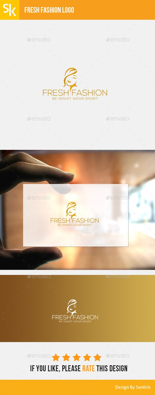 Fresh Fashion Logo - Humans Logo Templates
