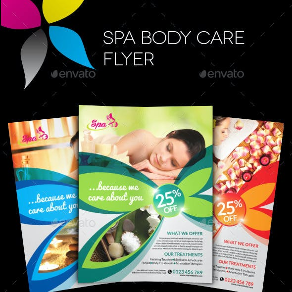 Spa Bodycare Flyer