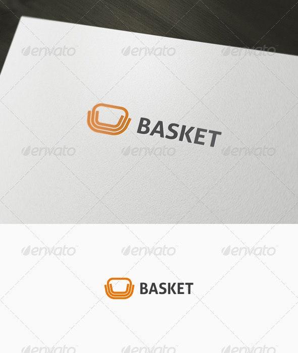 Abstract Basket Logo - Abstract Logo Templates