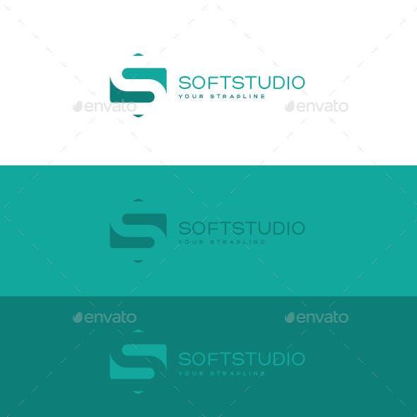 Soft Studio Letter S Logo