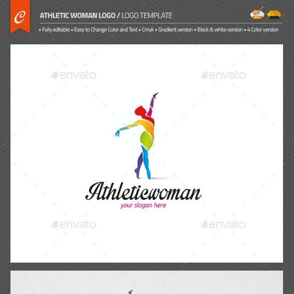Athletic Woman Logo