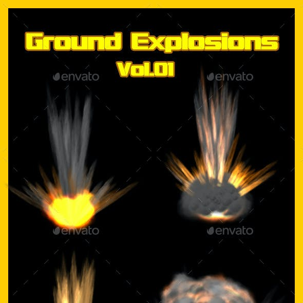 Ground Explosions Vol.01