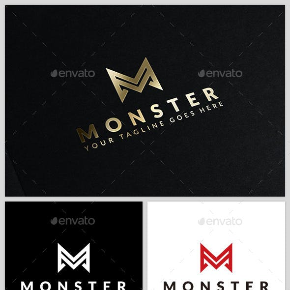 Monster - Logo Template