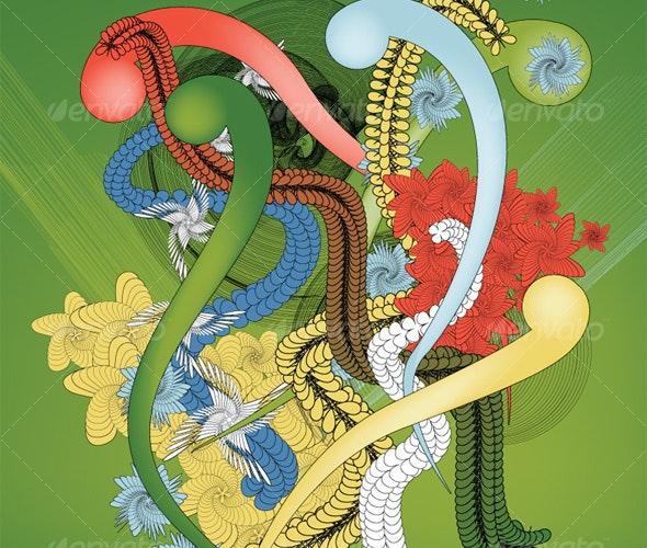Flourish Spiro 6 - Flourishes / Swirls Decorative