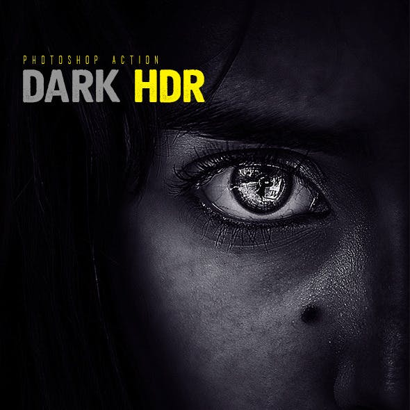 Dark HDR Photoshop Action