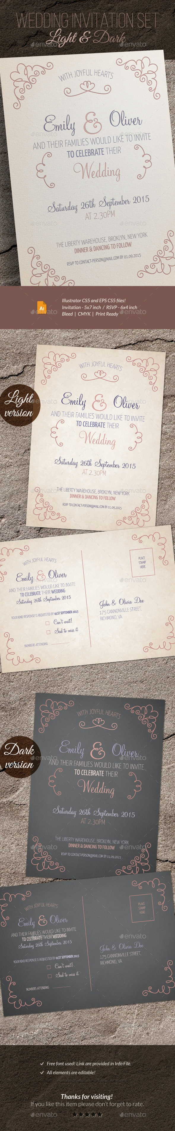 Wedding Invitation and RSVP - Weddings Cards & Invites