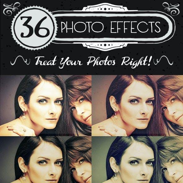 36 Premium Photo Effects