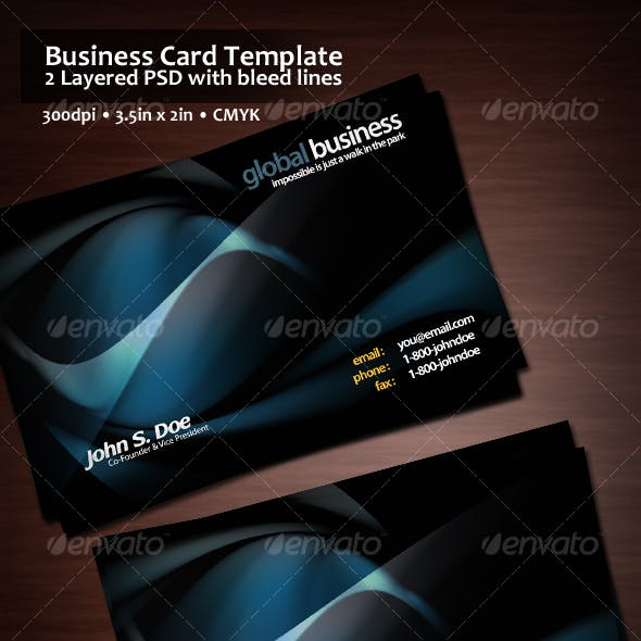 Poseidon Business Card