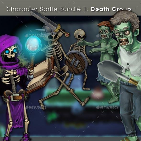 Character Sprite Bundle 1 - Death Group