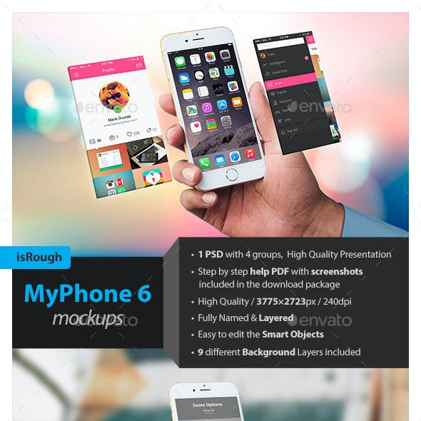 MyPhone 6 Mockups