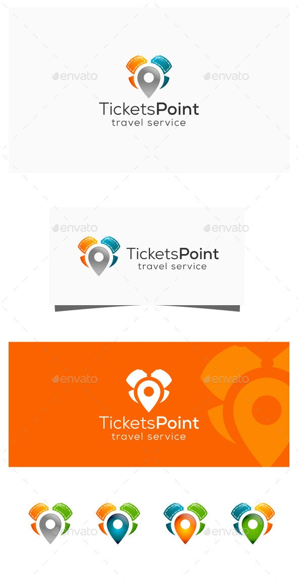 Ticket Agency - Symbols Logo Templates