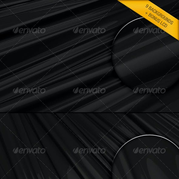 3D Black Backgrounds