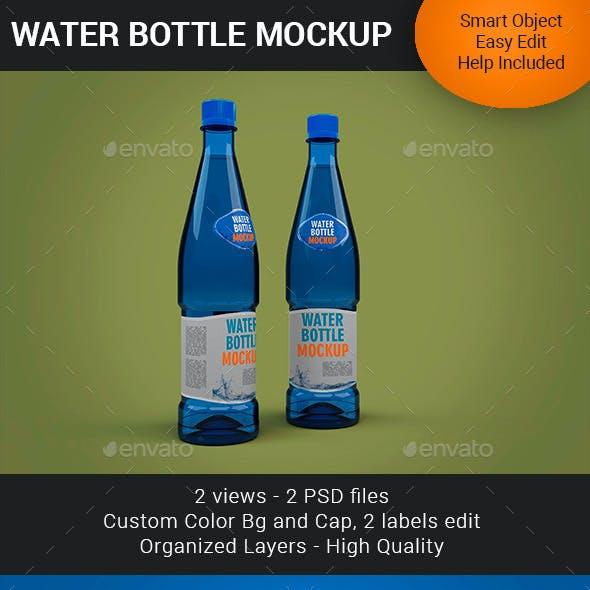 Water Bottle Mockup Premium