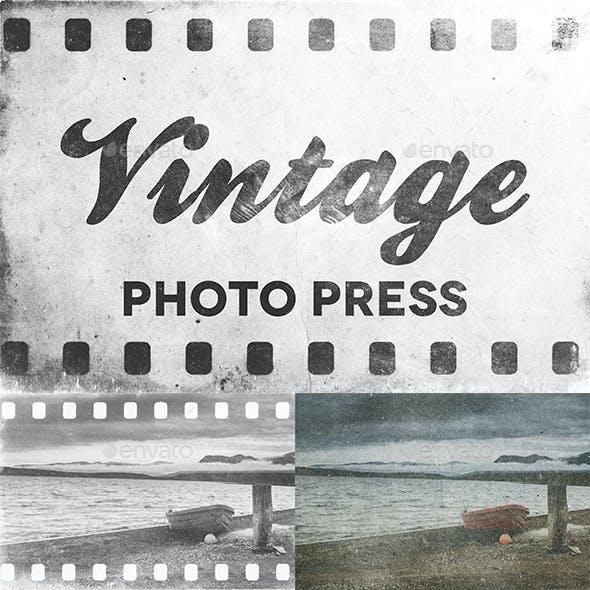 Vintage Photo Press Vol. 01