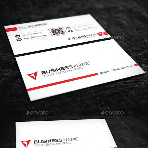 2 in 1 Corporate Business Card Bundle No.05