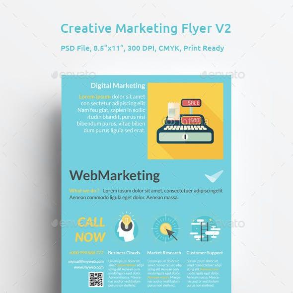 Creative Marketing Flyer V2