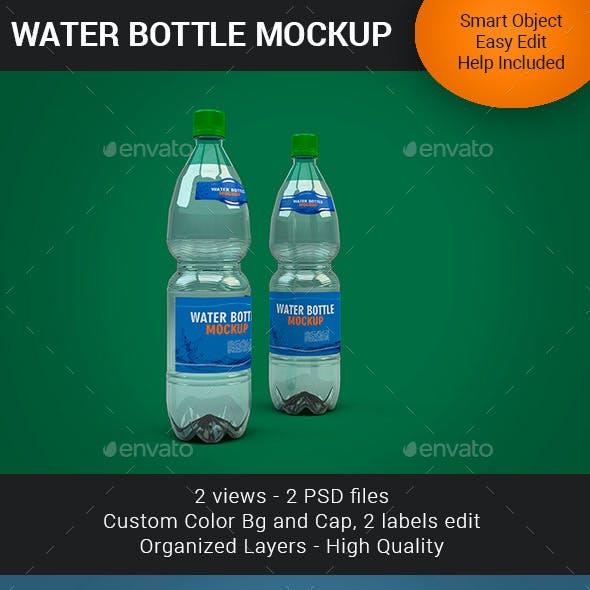 Water Bottle Mockup V2