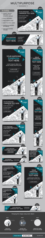 Mutipurpose Banners - Banners & Ads Web Elements