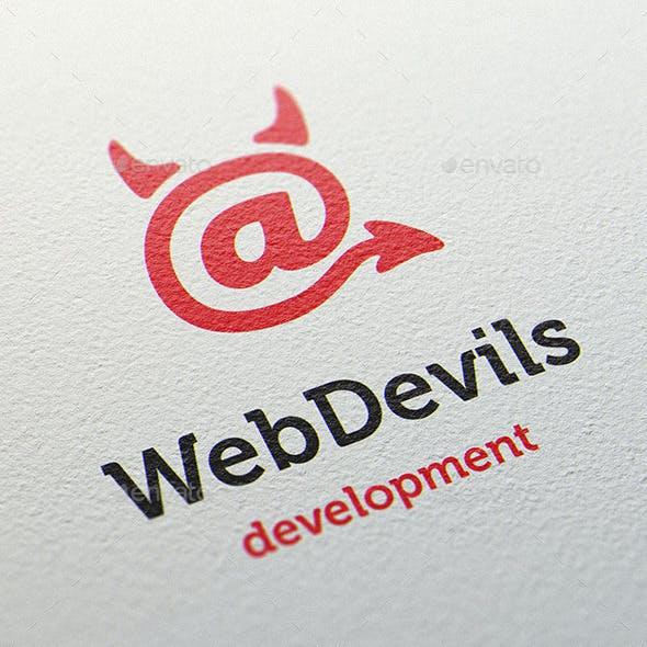 Web Devils Logo Template