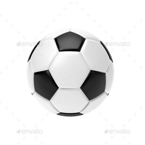Isolated Football