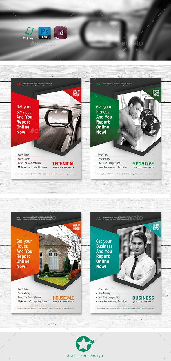 Multipurpose Flyer Templates - Corporate Flyers