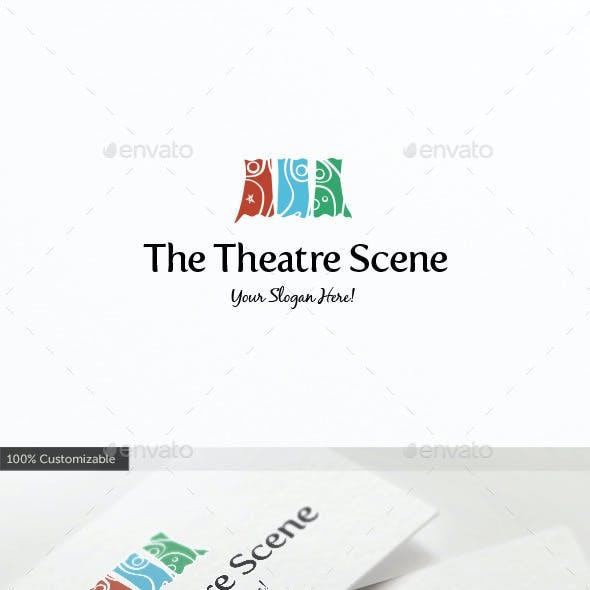 Theatre Scene Logo Template