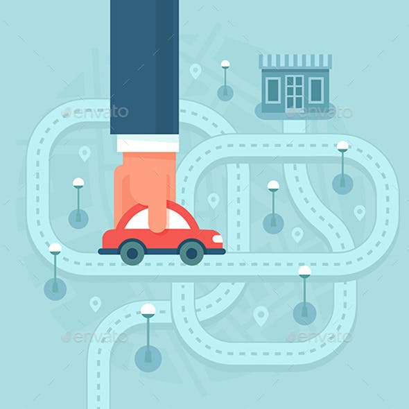 Help Customers Find Local Business by Car