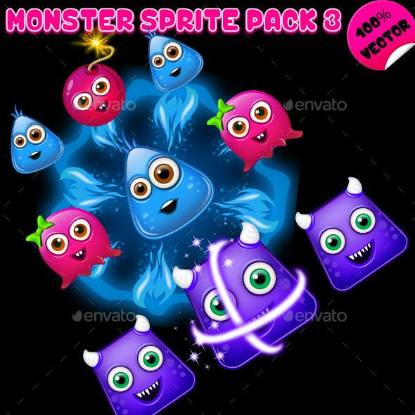 Monster Sprite Pack 03